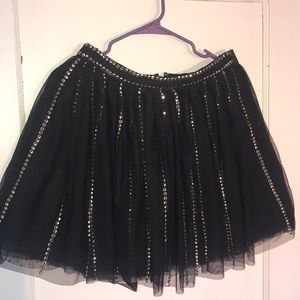 ASOS Sequin Mesh Skirt